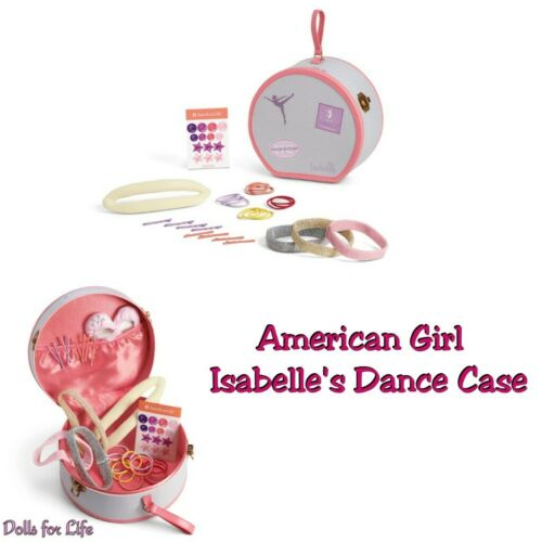 American Girl Isabelle/'s Ballet Practice Dance Case COMPLETE Set NIB NRFB NEW
