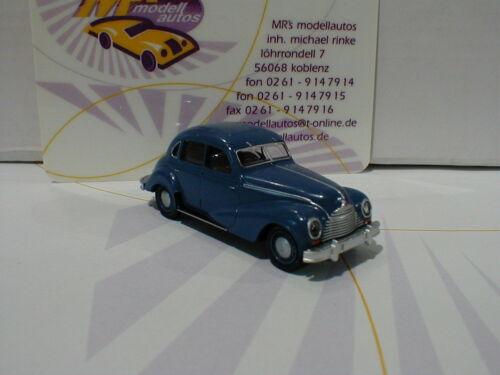 """Brekina 27302 # EMW 340 Limousine Anno di costruzione 1952 in /""""blu scuro/"""" 1:87 novità"""