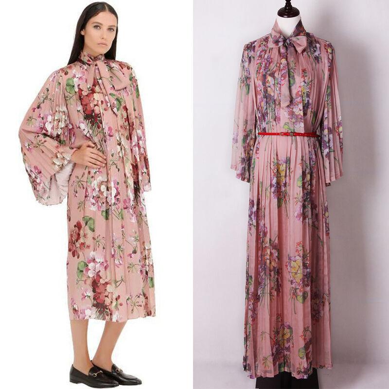 Femme Défilé Inspiration Créateur Robe Été Grande size size size 87b29c
