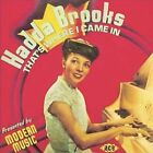 That's Where I Came In: The Modern Recordings 1946-47 by Hadda Brooks (CD, Apr-2005, Ace)
