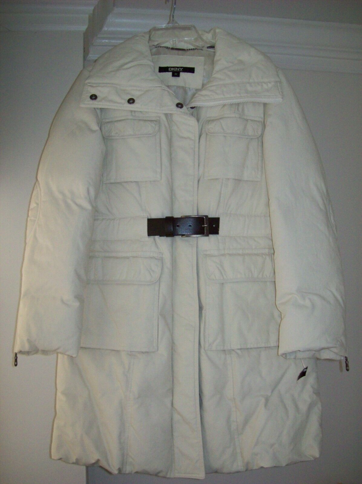New DKNY Water-resistant Coat, Size M