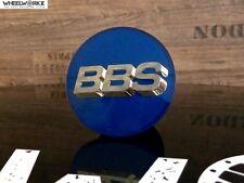 4x Original BBS Emblem Felgendeckel Nabenkappen blau/gold 3D 70,6mm 56.24.132