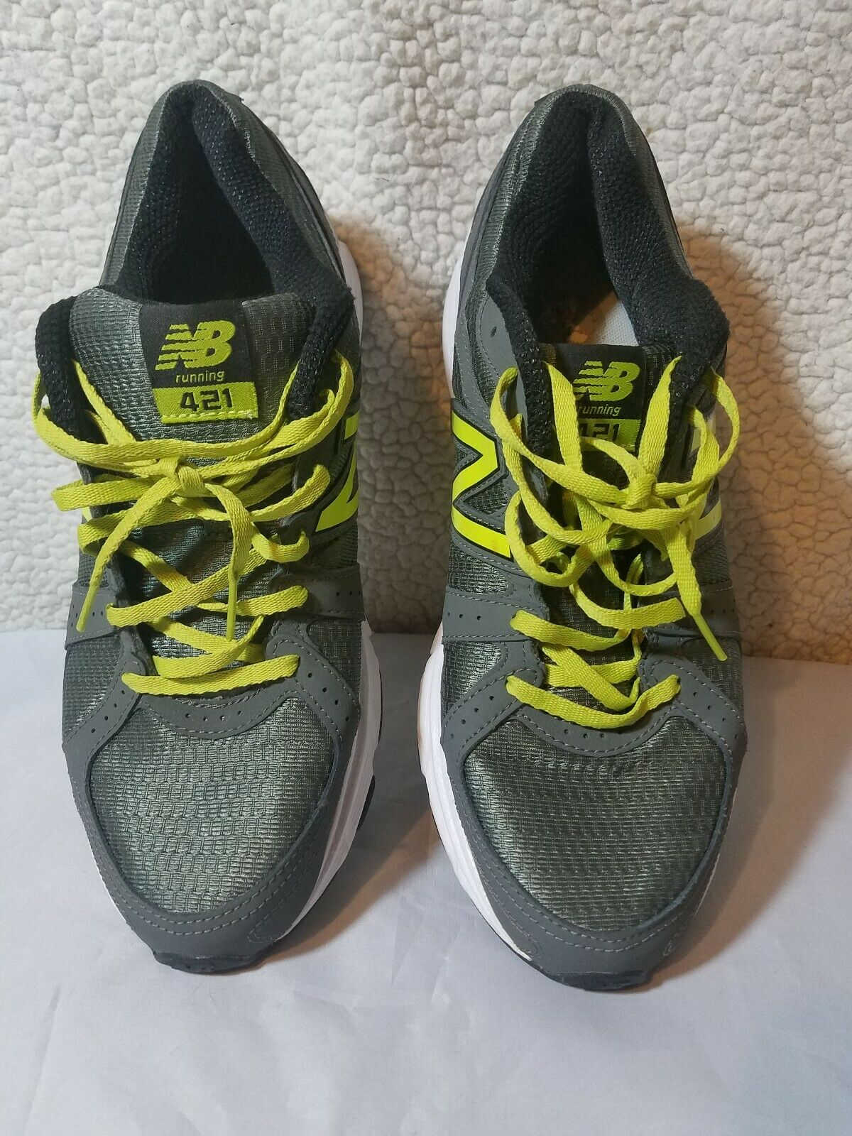 MEN'S NEW BALANCE RUNNING COURSE ATHLETIC WORKOUT SHOES ME421GL1 10 MEDIUM NEW