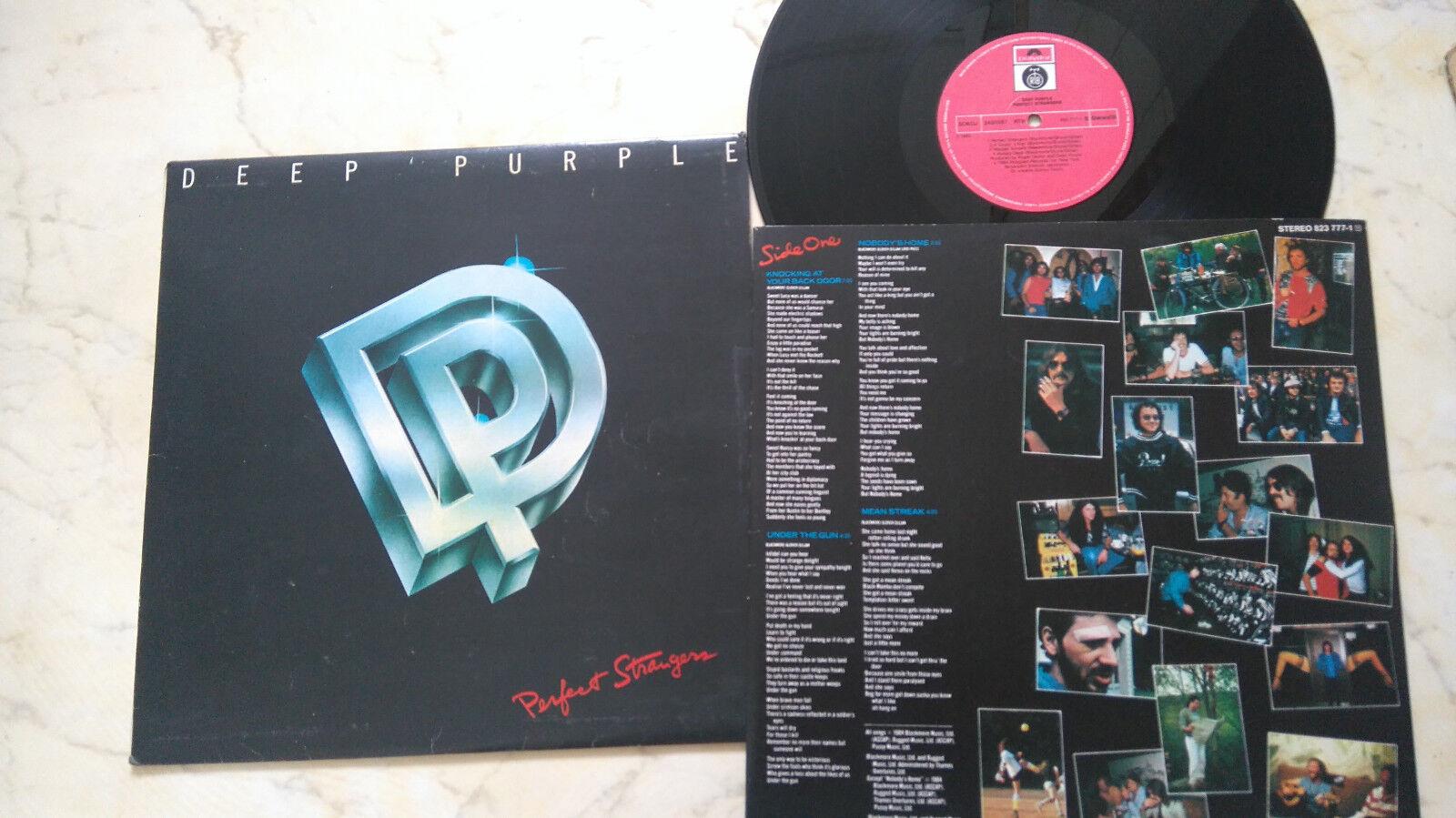 Super Preis Top Qualität DEEP PURPLE Perfect Strangers RARE YUGO ...