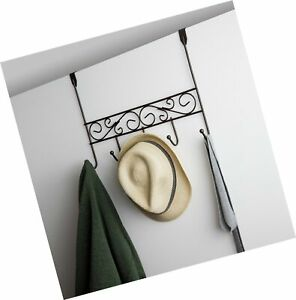 Details about Inspired Living by Mesa Inspired Living Over The Door Hanger  5 Organizer in O