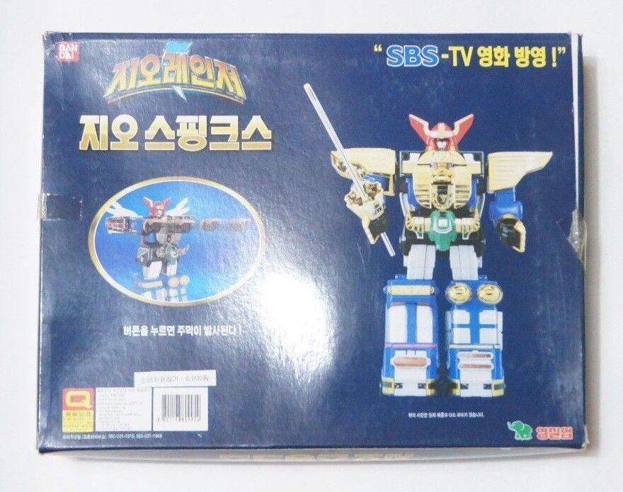 Bandai Power Rangers Zeo   Power Rangers Rangers Rangers Zeo Megazord Action Figure 6 Inches af057a