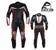 FURIOUS MOTORBIKE/MOTORCYCLE RACING LEATHER SUIT FULL PROTECTION SUIT