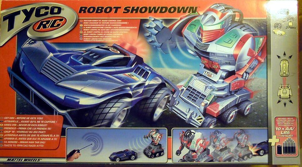 MATTEL 91904   Tyco RC Robot mostraredown, a distanza accentrato diverdeimento con azione, NUOVO & OVP  ordina ora i prezzi più bassi