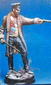 Figurine en résine 1/16 120 mm The Roll Call Officer Capitaine Souter Gandamak, capitaine, 1842. Nouveau.