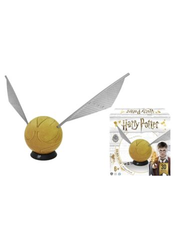 "6/"" Harry Potter Golden Snitch Spherical 3D Puzzle"