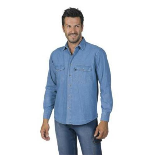 Dallas Lunga Camicia Uomo Manica Da Jeans In BTwqYIT