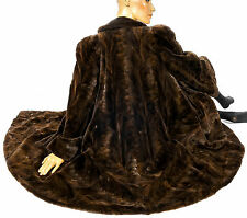 L XL Swinger Samtnerz Nerzmantel Nerz geschoren Pelzmantel shorn mink fur coat