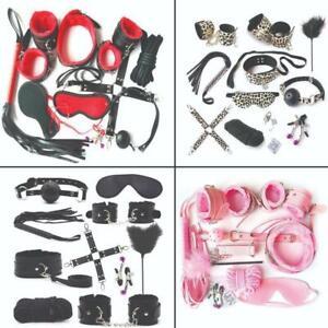 Bondage photo sets Bdsm Toys Leather Bondage Sets Restraint Kits Things For Couples Ebay