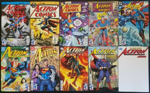 ACTION COMICS 1000 ALL 10 COVER SET LEE CHO STERANKO ALLRED RUDE JURGENS BERMEJO