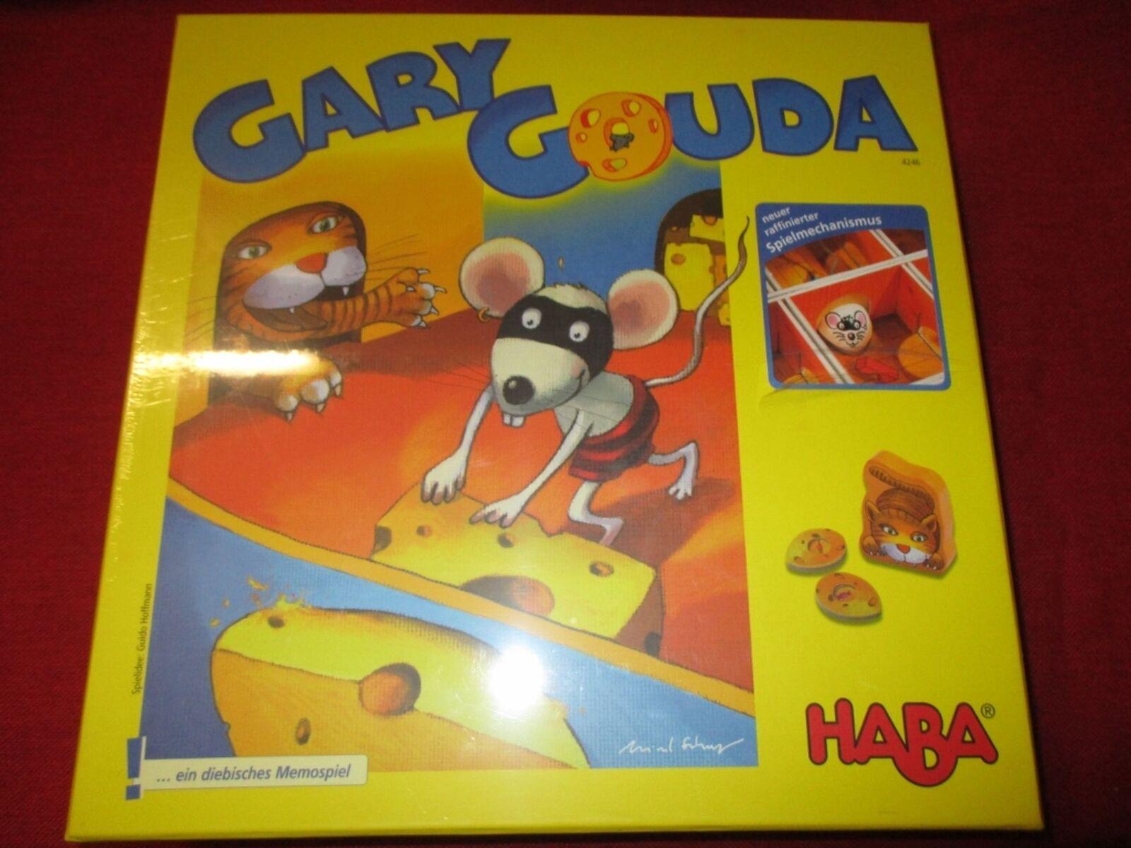 Haba ® 4246 jeu de plateau Gary Gouda Nouveau neuf dans sa boîte