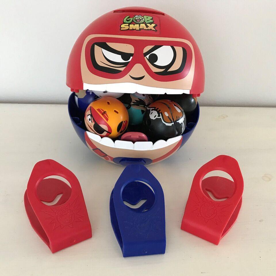 Figurer, 11 Gobsmax figurer + Gobsmax Big Mouth + 3 ramper.,