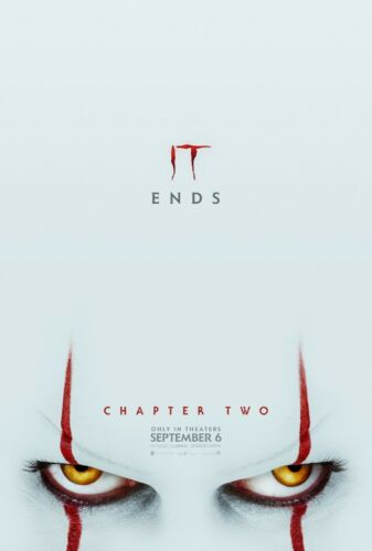 IT Chapter Two 2 Movie Poster 11x17 13x19 2019 Pennywise NEW