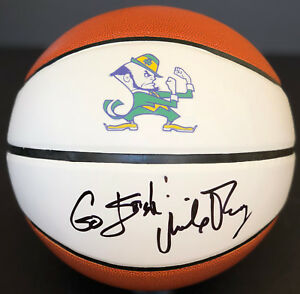 Mike Brey Signed Floorboard w//COA Notre Dame Fighting Irish Basketball Autographed College Floorboards