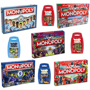 7fa4a77fe076 Image is loading Monopoly-Board-Football-Game-Edition-Gift-2018-Full-