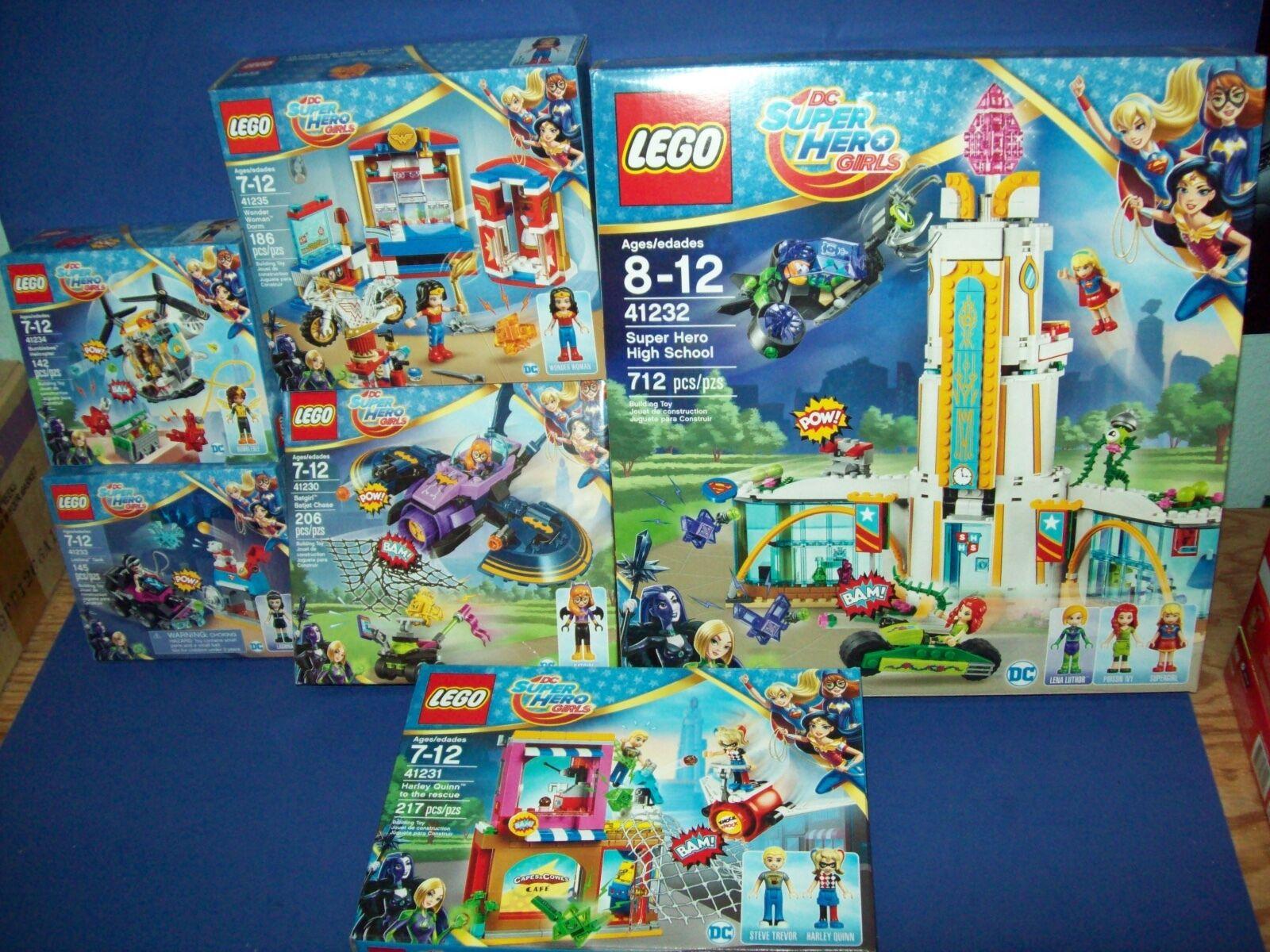 Lego Viele Dc Superheld Mädchen 41230 41231 41232 41233 41234 41235 Wonder Woman