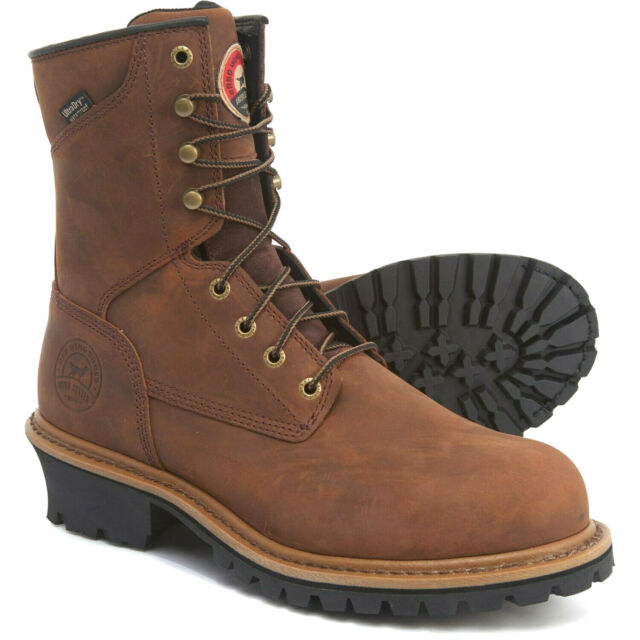 """speical offer best price buy cheap Red Wing Irish Setter MESABI 8"""" Waterproof Lace-up Logger Work Boots Steel  Toe"""