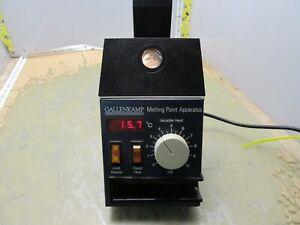 gallenkamp melting point apparatus mfb.595.030g [5*A-1] | eBay
