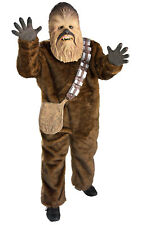 Rubie's Official Star Wars, Deluxe Chewbacca Childs / Boys Fancy Dress Costume