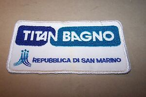 BADGES/TOPPA: titan bagno repubblica di san marino - originale ...