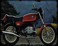 Bmw R65 79 A4 Photo Print Motorbike Vintage Aged