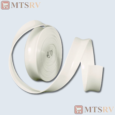 Camco 25 Roll Of Vinyl Insert Trim Molding Polar White 1 X 25 25103 New Ebay