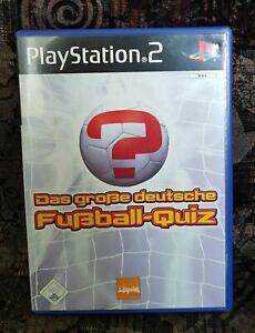 Details Zu Play Station 2 Spiel Ps2 Das Grosse Deutsche Fussball Quiz Anleitung