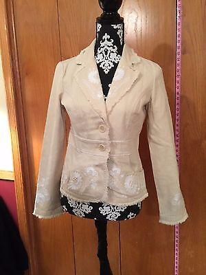 White House Black Market Women Fashion Casual Business Blazer Suit Jacket Coat