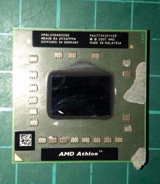GATEWAY NV52 NV53 NV54 NV56 NV58 AMD Athlon 2.1 Ghz CPU Processor  AMQL65DAM22GG