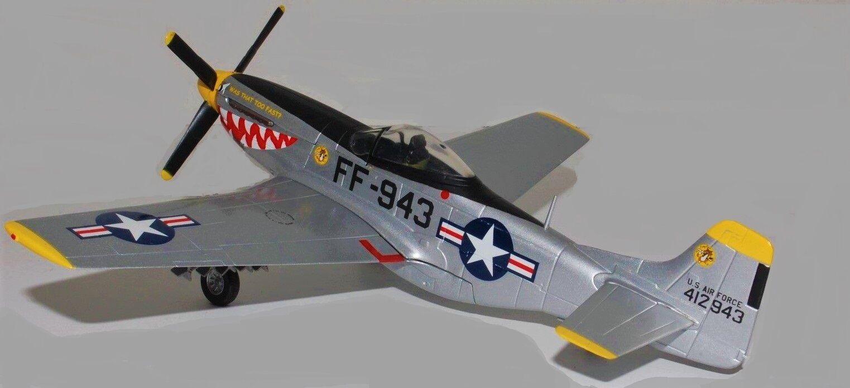 Modelo de avión aeronave 1 Diecast construido luchador militar nos Fuerza Aérea Vintage 48