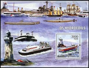 Guinea-Bissau, Souv. Sheet, MNH. Ships and Lighthouses, 2006 (S1)