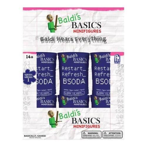 Baldi/'s Basics Mini figura Cieco SODA-Uno Nuovo di zecca in dotazione
