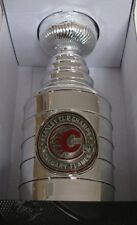 """NEW CALGARY FLAMES 1989 STANLEY CUP CHAMPIONS PREMIUM REPLICA TROPHY 8"""""""