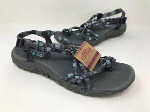 c539c16d2ab1 New! Women s Skechers 40950 Reggae Jamrock Toe Ring Sandal Gray ...