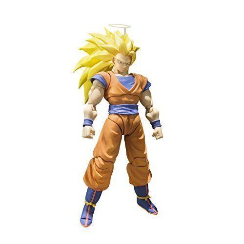 Bandai S.H.Figuarts Dragon Ball Z SUPER SAIYAN 3 3 3 SON GOKOU Action Figure Japan ea16b0