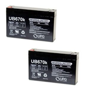 UPG 6V 7AH Battery for Chloride 1000010164 WITH CHARGER