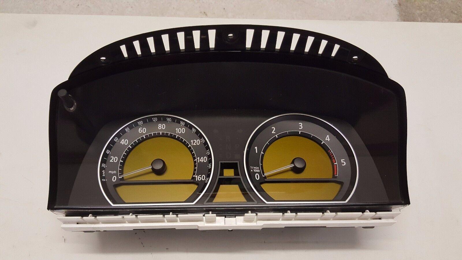 Bmw 730d E65 Instrument Cluster Speedometer Odometer Speedo 6211 Speedometers Gps Speed Sensor Vdo Norton Secured Powered By Verisign