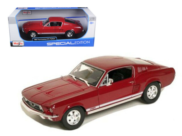 Image result for 1967 Ford Mustang GTA Fastback Diecast