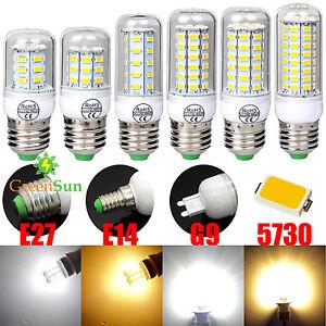 e27 e14 g9 7w 10w 12w 16w 18w 5730 smd led lampe licht gl hbirne birne leuchte ebay. Black Bedroom Furniture Sets. Home Design Ideas