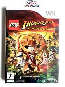 Indiana-Jones-Trilogia-Original-Wii-PAL-SPA-Precintado-Nuevo-New-Sealed-Nintendo