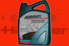 5 Liter Kanister (1 L = 4,29 €) ADDINOL 5 W 40 Super Light  0540 Synthetisch Oel