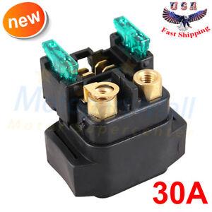starter solenoid relay yamaha kodiak 400 yfm400 2000 01 02 03 04 05 rh ebay com