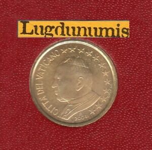 Vatican 2004 10 Centimes D'Euro BU FDC Jean Paul II 85000 exemp Provenant BU