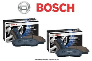 [FRONT + REAR SET] Bosch QuietCast Ceramic Premium Disc Brake Pads BH96421