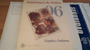 ESPANA-Y-ANDORRA-1996-LIBRO-COMPLETO-OFERTA-UNICA-y-ESPECIAL
