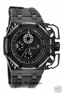 Audemars piguet royal oak offshore survivor limited mens swiss luxury watch ap ebay for Royal oak offshore survivor